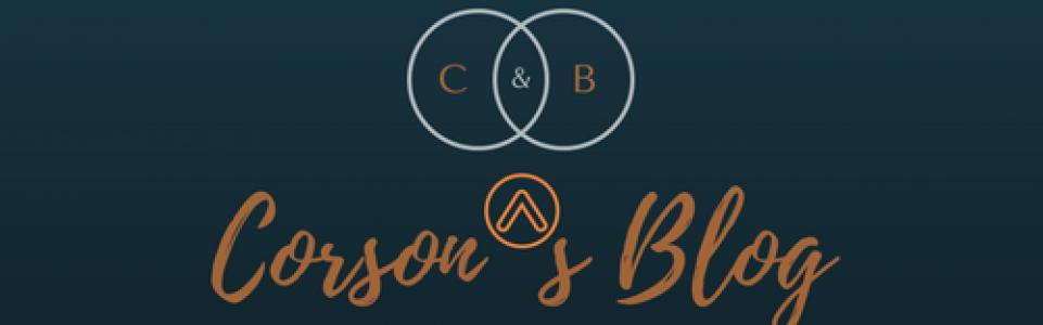 Corson's blog